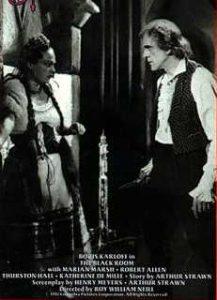 The Black Room, starring Boris Karloff