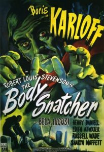 The Body Snatcher - Boris Karloff, Bela Lugosi - movie poster