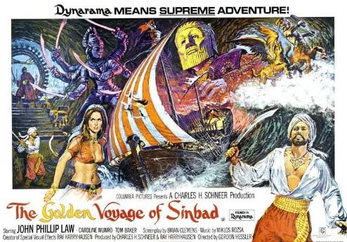 The Golden Voyage Of Sinbad (UK) 30x40 Movie Poster (1973)