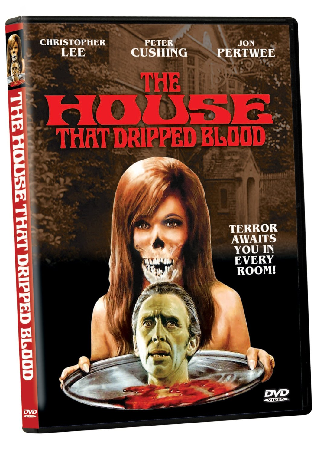 The House that Dripped Blood, starring Peter Cushing, Christopher Lee, Jon Pertwee