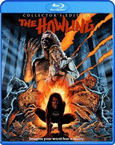 The Howling, starring Dee Wallace, Patrick Macnee, Elisabeth Brooks, John Carradine, Robert Picardo