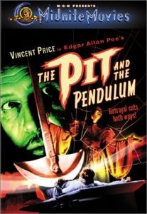 The Pit and the Pendulum (1961) starring Vincent Price, Barbara Steele