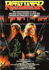 The Retaliator, aka. Programmed to Kill (1987) starring Robert Ginty Sandahl Bergman