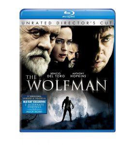 The Wolfman (2010), starring Benicio Del Toro, Simon Merrells, Anthony Hopkins, Emily Blunt