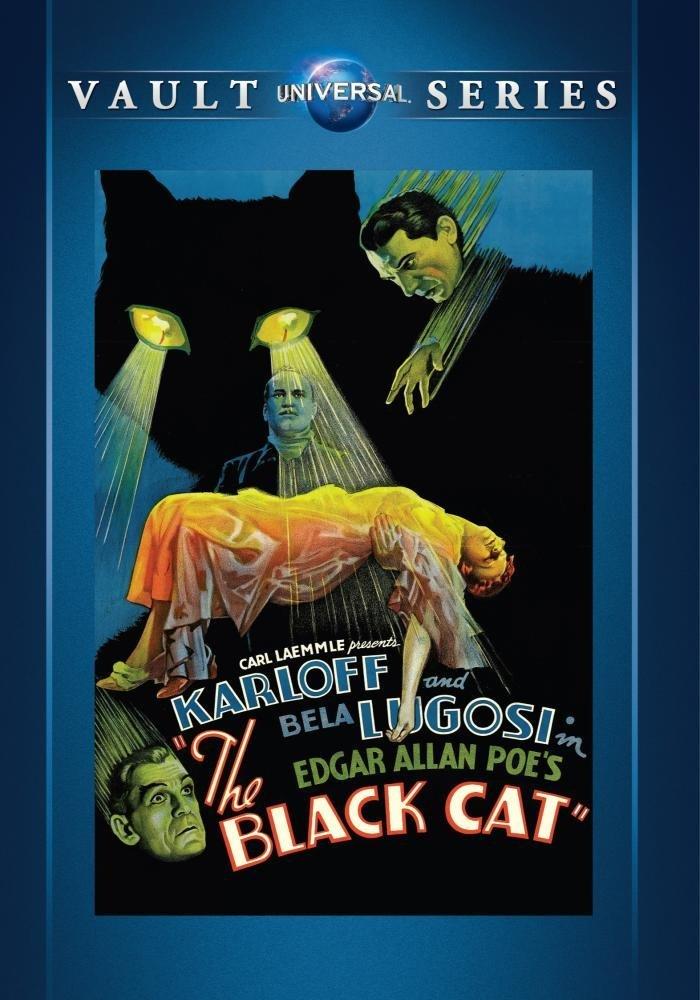 The Black Cat (1934) starring Boris Karloff, Bela Lugosi