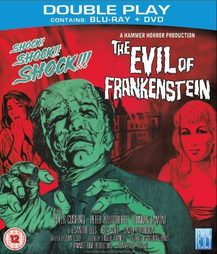 The Evil of Frankenstein, starring Peter Cushing
