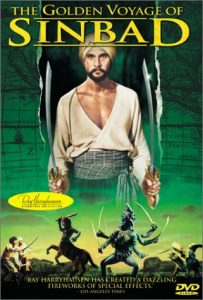 Ray Harryhausen's classic The Golden Voyage of Sinbad (1973) starring John Phillip Law, Caroline Munro, Tom Baker