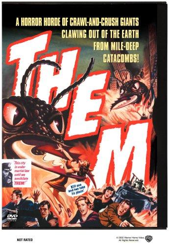Them! starring James Arness, James Whitmore