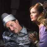 Vincent Price (as Dr. Erasmus Craven) is out of it, with his daughter Estelle (Olive Sturgess) trying to revive him