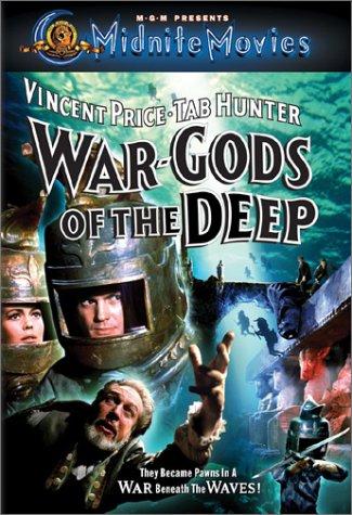 War-Gods of the Deep (1965) starring Tab Hunter, David Tomlinson, Vincent Price, Susan Hart, John Le Mesurier