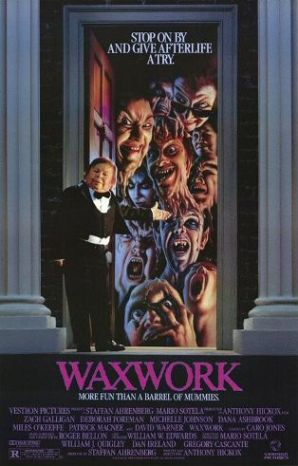 Waxwork (1988) starring Zach Galligan, Deborah Foreman, Michelle Johnson