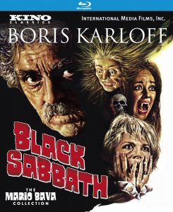 Black Sabbath starring Boris Karloff, Michele Mercier, Lidia Alfons, Mark Damon