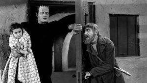 Cloestine, Frankenstein's monster, and Ygor
