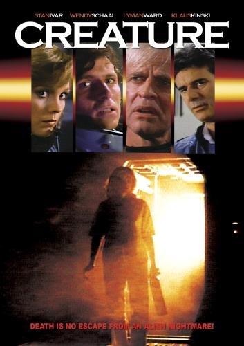 Creature, aka. Titan Find (1985) starring Stan Ivar, Klaus Kinski, Wendy Schaal, Lyman Ward, Robert Jaffe