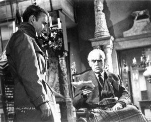 Die, Monster, Die - Nick Adams and Boris Karloff