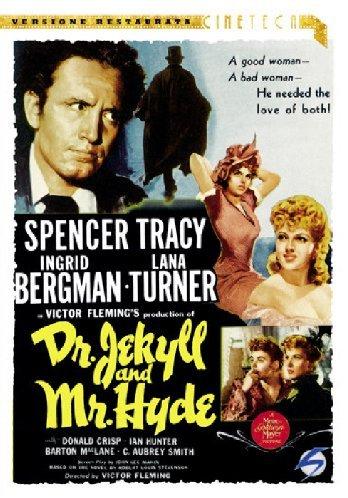Dr Jekyll and Mr. Hyde (1941) starring Spencer Tracy, Ingrid Bergman, Lana Turner