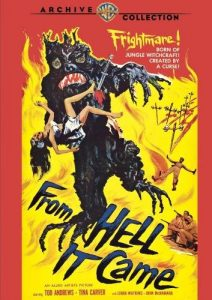 From Hell It Came (1957) starring Tod Andrews, Tina Carver