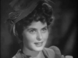 Ingrid Bergman as the barmaid/singer Ivy Peterson - Hyde's first victim in Dr Jekyll and Mr. Hyde