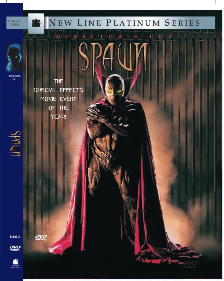 Spawn DVD cover