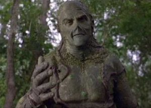 Dick Durock as the Swamp Thing