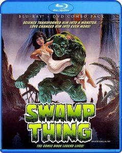 Swamp Thing by Wes Craven, starring Adrienne Barbeau, Louis Jourdan, Ray Wise, Dick Durock
