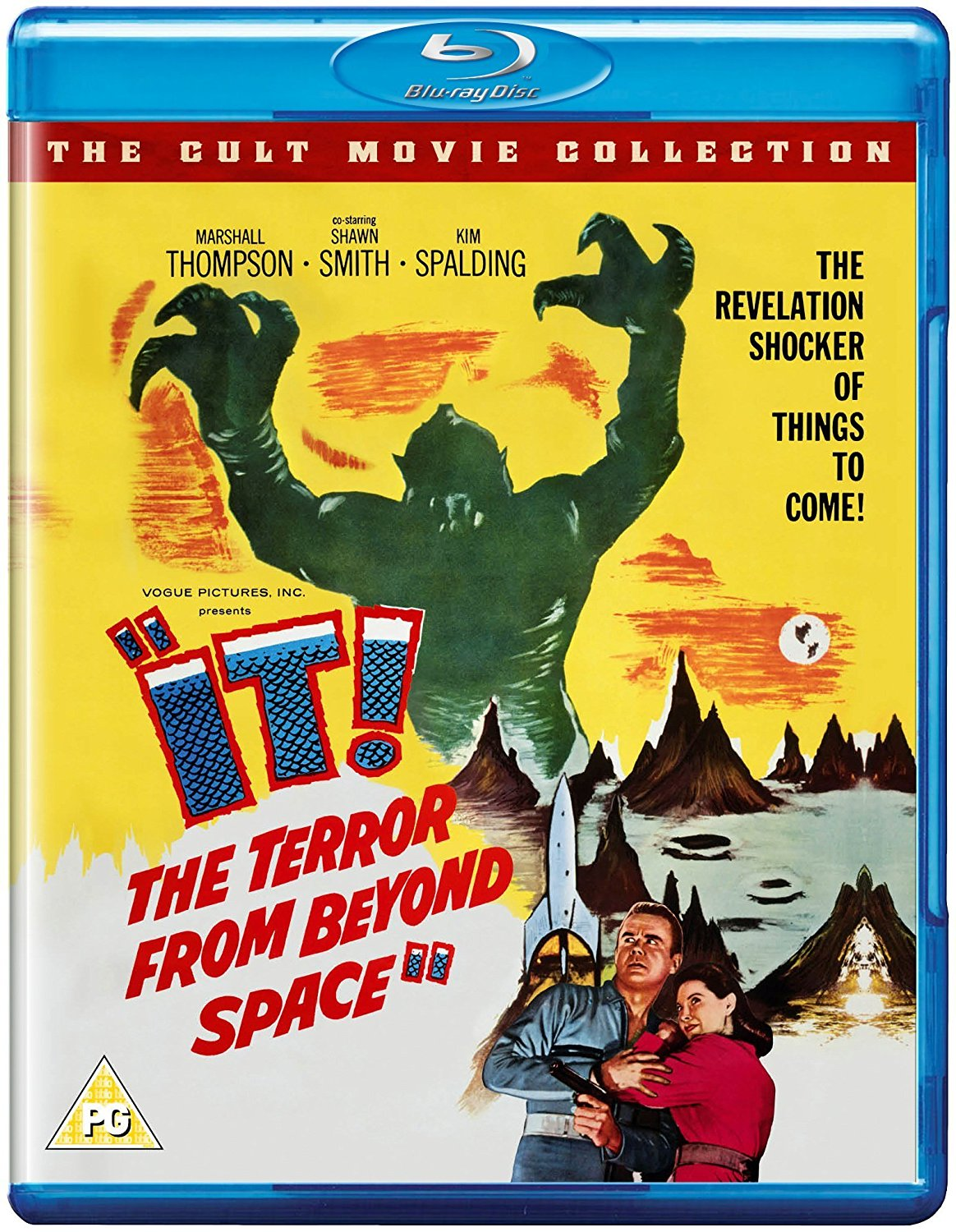 It! The Terror from Beyond Space (1958) starring Marshall Thompson, Shawn Smith, Kim Spalding