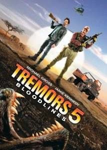 Tremors 5 Bloodlines (2015) starring Michael Gross, Jamie Kennedy