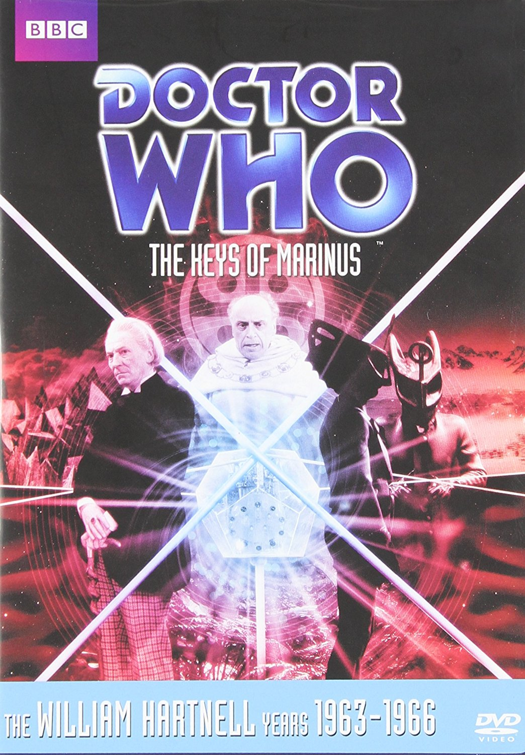 Doctor Who: The Keys of Marinus (1964) starring William Hartnell, Jacqueline Hill,  William Russell,  Carole Ann Ford