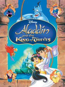 Aladdin and the King of Thieves, starringGilbert Gottfried, Jerry Orbach, Scott Weinger, Linda Larkin, John Rhys-Davies