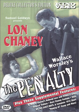 The Penalty, starring Lon Chaney,Ethel Grey Terry
