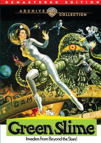 The Green Slime (1968) starringRobert Horton, Luciana Paluzzi, Richard Jaeckel, Bud Widom, Ted Gunther