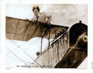 The Grim Game Harry Houdini 1919 wing walking