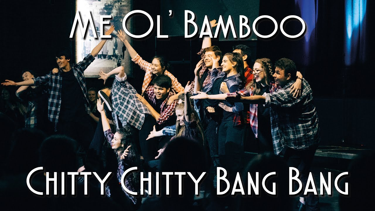 Song lyrics to Me Ol' Bamboo performed by Dick Van Dyke in Chitty Chitty Bang Bang - a very enjoyable comic song and dance routine