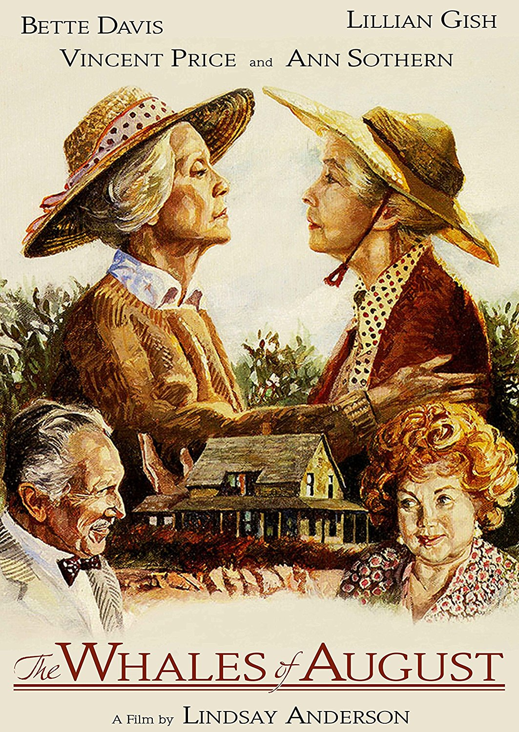 The Whales of August (1987) starring Lillian Gish, Bette Davis, Vincent Price, Ann Sothern
