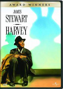 Harvey, starring James Stewart,Josephine Hull