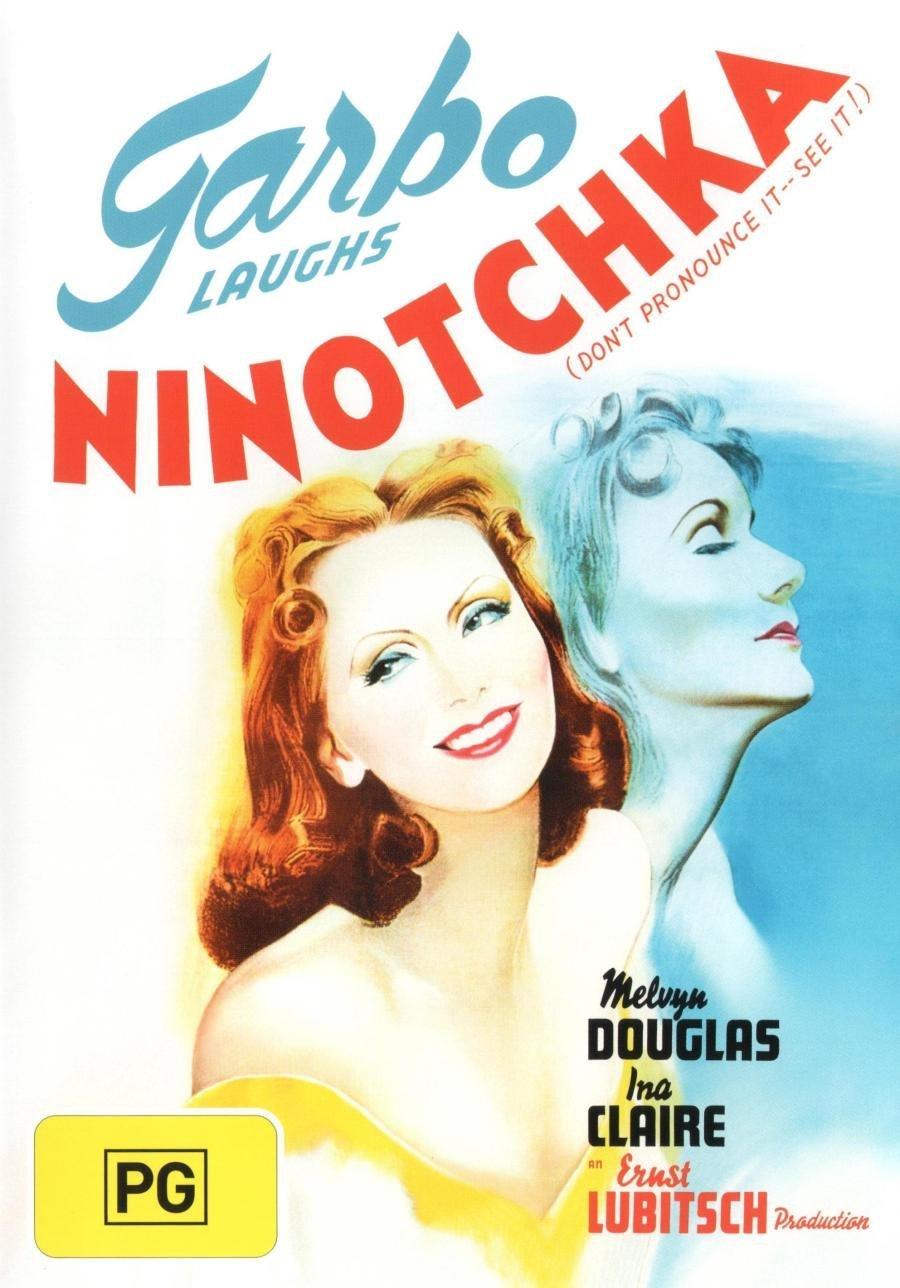 Ninotchka (1939) starringGreta Garbo, Melvyn Douglas, Ina Claire, Bela Lugosi, Sig Ruman