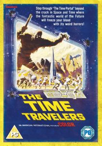 The Time Travelers (1964) starring Merry Anders, Preston Foster, Philip Carey, John Hoyt, Steve Franken