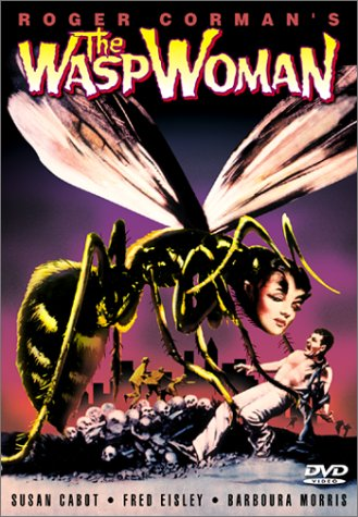 The Wasp Woman (1959) starring Susan Cabot, Philip Barry, Michael Mark, Fred Eisley, directed by Roger Corman