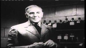 George Zucco as the mad scientist in The Mad Monster