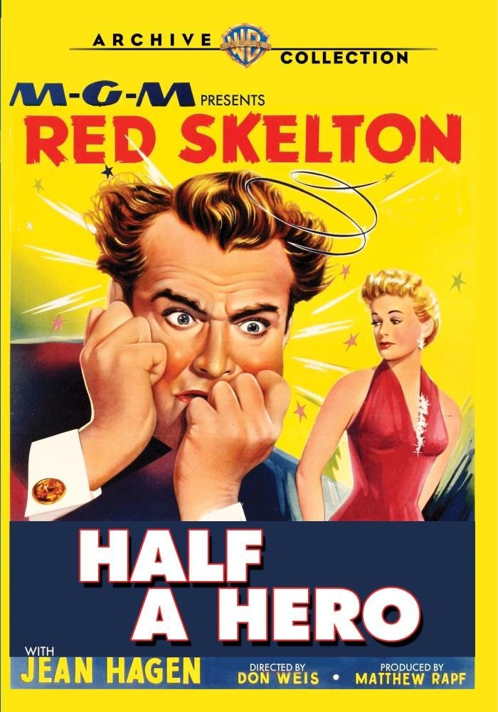 Half a Hero (1953), starring Red Skelton, Jean Hagen