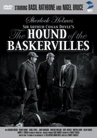 The Hound of the Baskervilles (1939) starring Basil Rathbone, Nigel Bruce, Richard Greene, Lionel Atwill