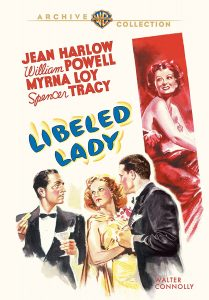 Libeled Lady (1936) starring Spencer Tracy, Myrna Loy,William Powell,Jean Harlow