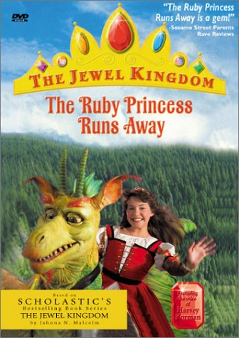 The Ruby Princess Runs Away - The Jewel Kingdom - 'The Ruby Princess Runs Away' is a gem! - Sesame Street Parents Rave Review - featuring the voice of Harvey Korman - DVD - based on Scholastic's bestselling book series The Jewel Kingdom
