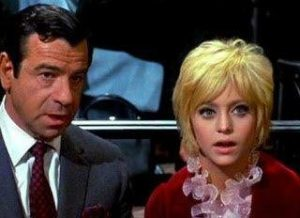 Walter Matthau and Goldie Hawn in Cactus Flower