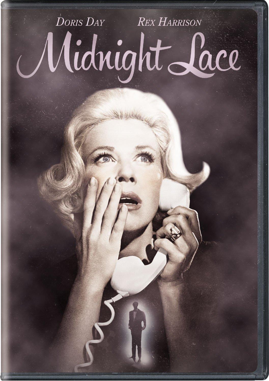 Midnight Lace (1960), starring Doris Day, Rex Harrison,Myrna Loy, John Gavin, Roddy McDowall