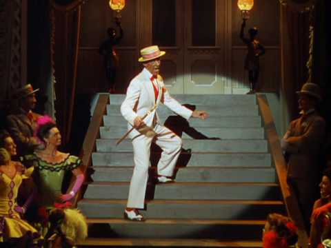 Steppin' Out With My Baby waswritten by Irving Berlin, performed by Fred Astaire inEaster Parade