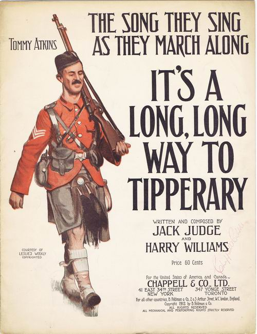 It's a Long Way to Tipperary (1912) lyrics - Written by Jack Judge and Harry Williams, performed by Judy Garland in For Me and My Gal