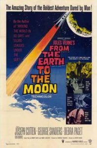 From the Earth to the Moon (1958) starring Joseph Cotton, George Sanders