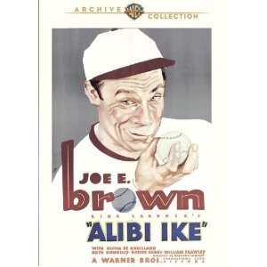 Alibi Ike (1935), starring Joe E. Brown, Olivia de Haviland
