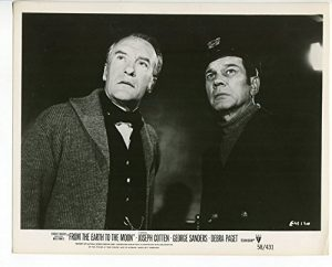 George Sanders and Jospeh Cotton in From the Earth to the Moon